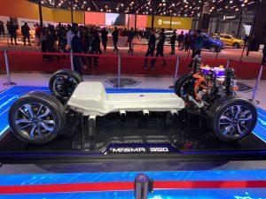 MESMA 350V platform side