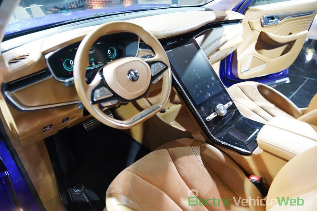 MG Marvel X dashboard 1 - Auto Expo 2020