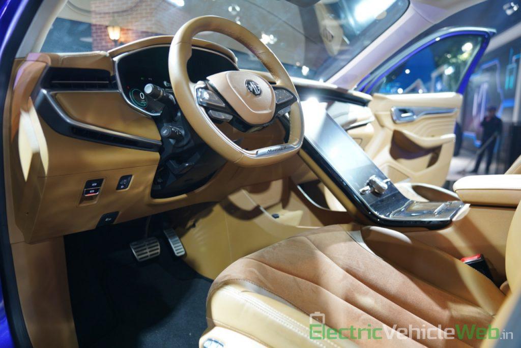 MG Marvel X dashboard 2 - Auto Expo 2020