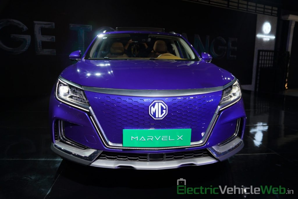 MG Marvel X front view - Auto Expo 2020