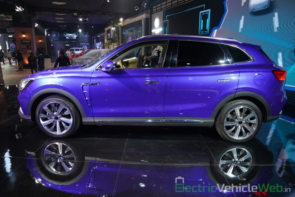 MG Marvel X side view - Auto Expo 2020