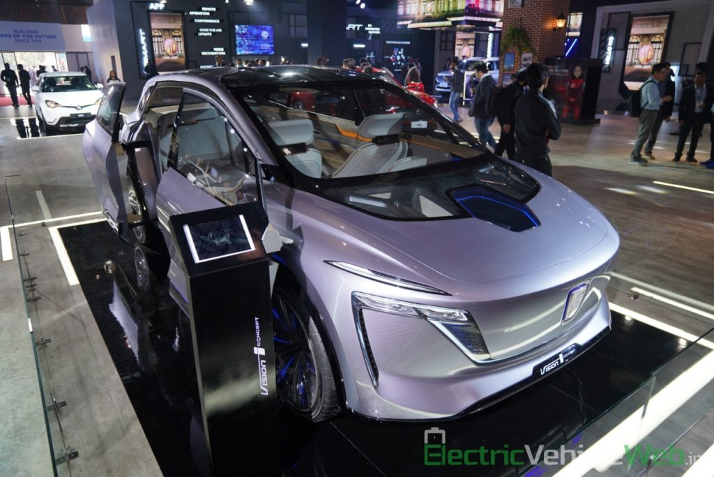 MG Vision-i (Roewe Vision i) Concept - Auto Expo 2020