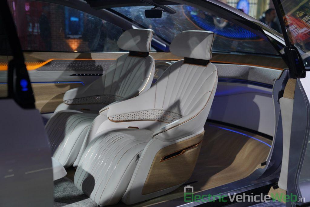 MG Vision-i (Roewe Vision i) Concept seats - Auto Expo 2020