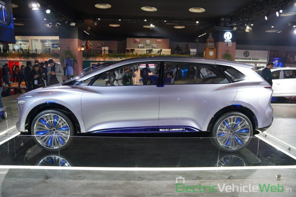 MG Vision-i (Roewe Vision i) Concept side view - Auto Expo 2020