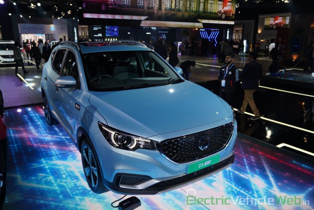 MG Electric Car ZS