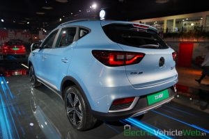 MG ZS EV rear three quarter view 2- Auto Expo 2020
