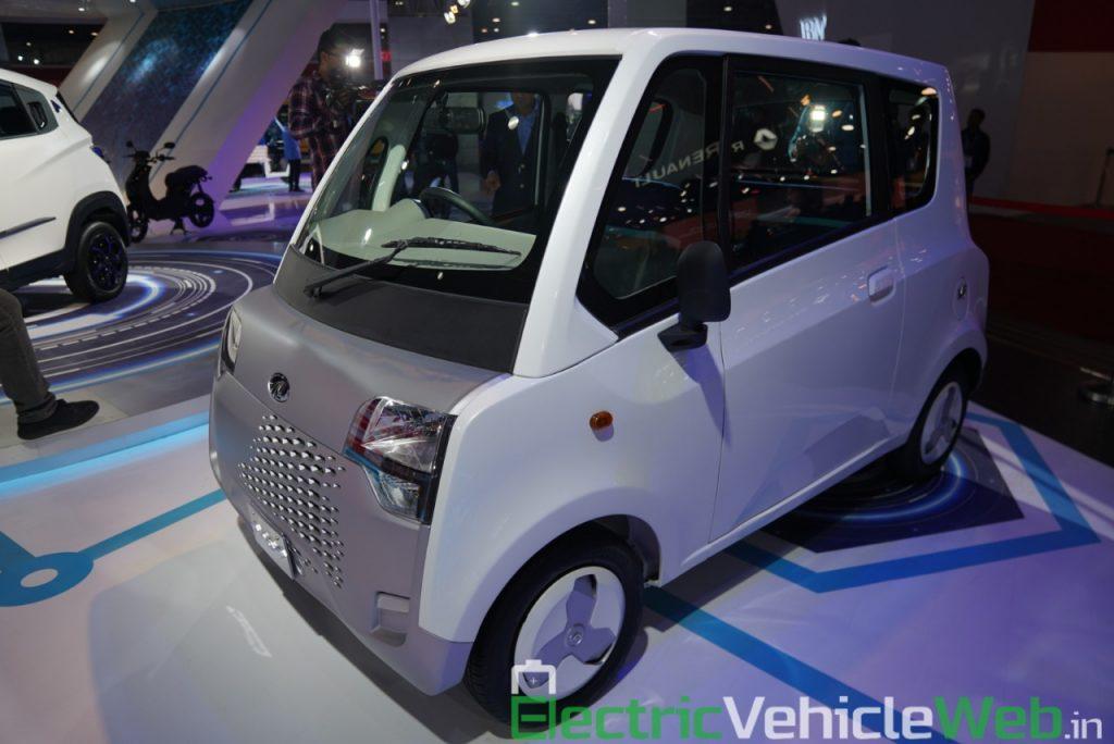 Mahindra Atom Electric front three quarter view 1 - Auto Expo 2020