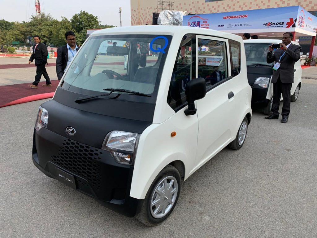 Mahindra Atom Electric front three quarter view 3 - Auto Expo 2020