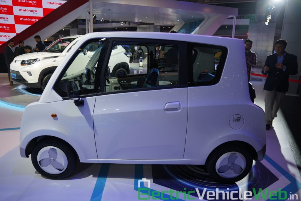 Mahindra Atom Electric side view 1 - Auto Expo 2020