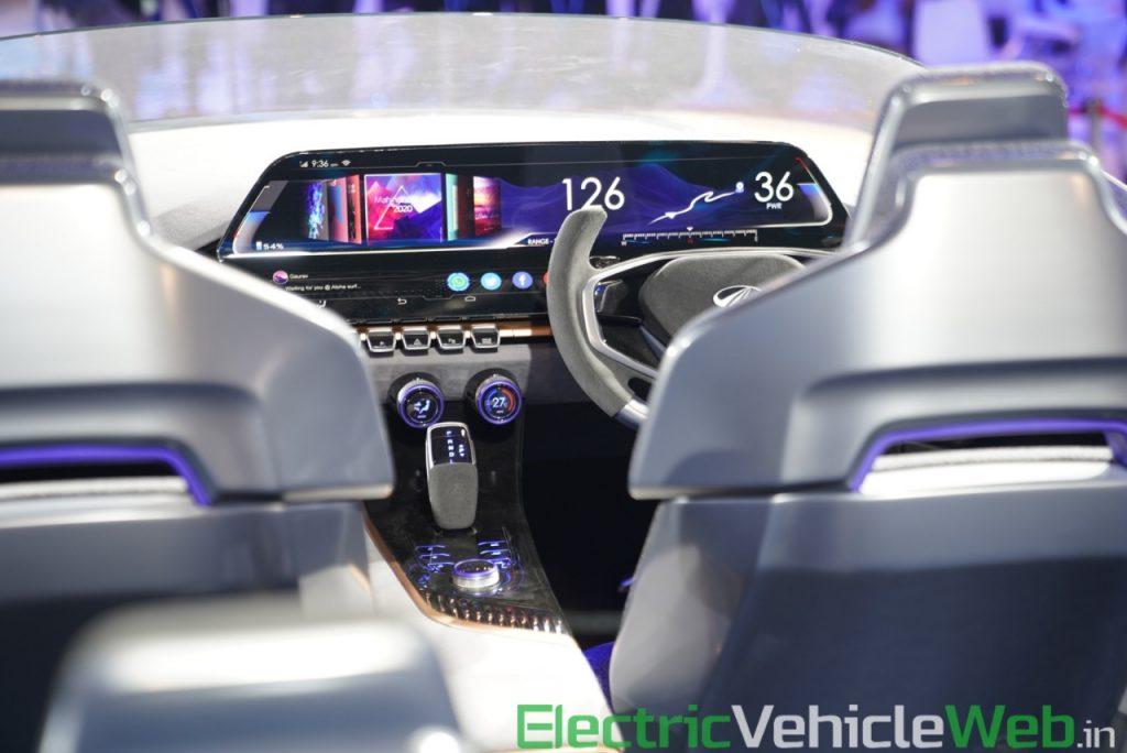 Mahindra Funster Concept dashboard - Auto Expo 2020,