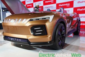 Mahindra Funster Concept front three quarter view - Auto Expo 2020,