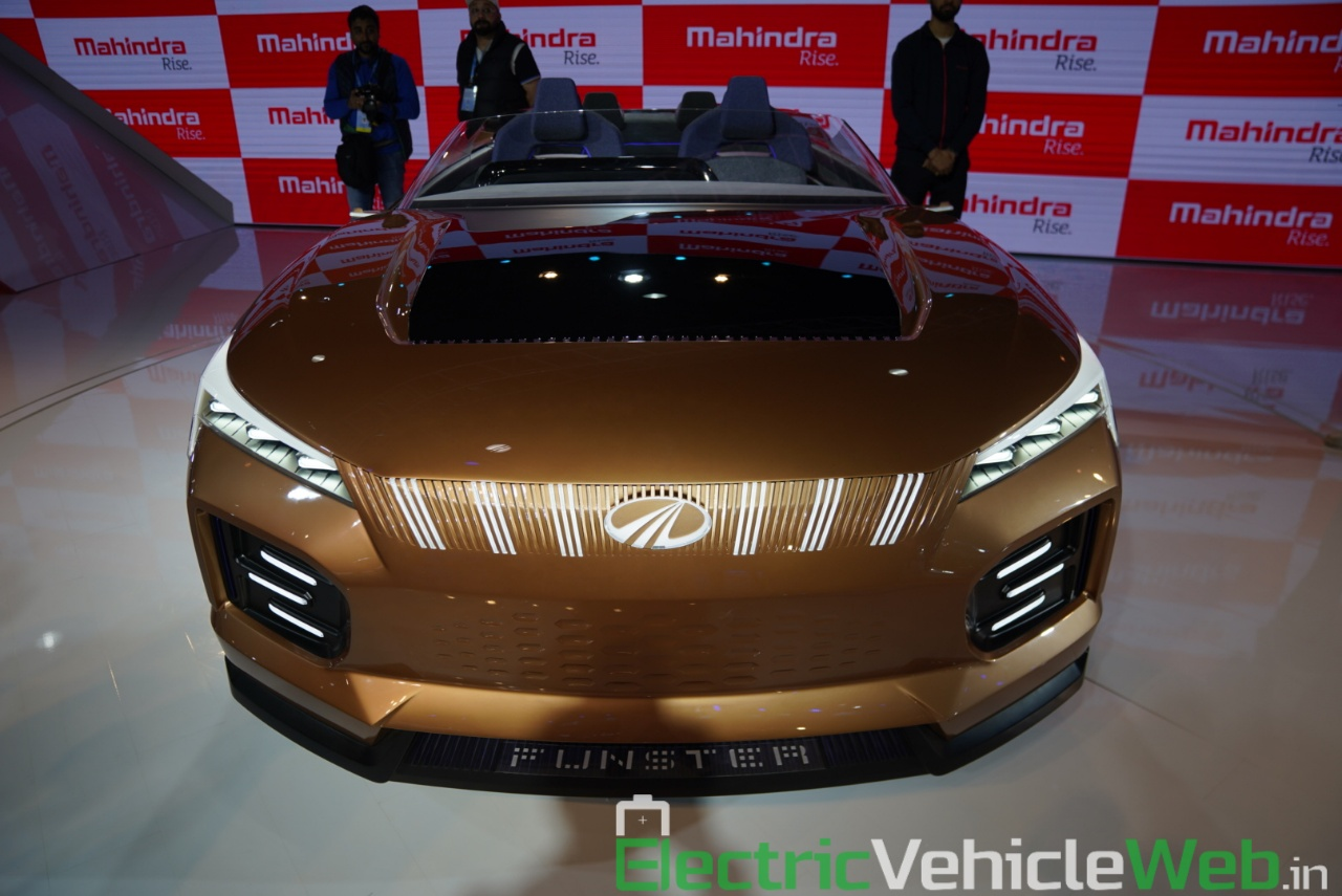 Mahindra Funster Concept front view 2 - Auto Expo 2020,