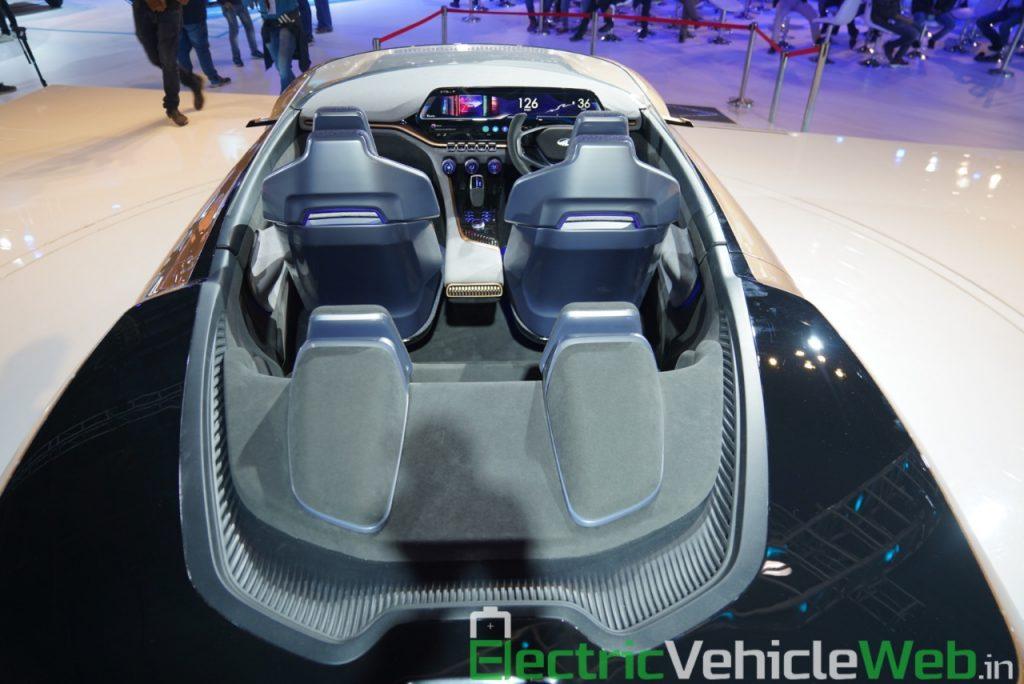 Mahindra Funster Concept interior - Auto Expo 2020,