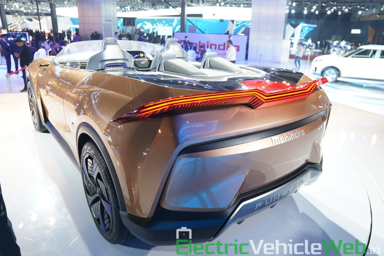 Mahindra Funster Concept rear three quarter view 2 - Auto Expo 2020,