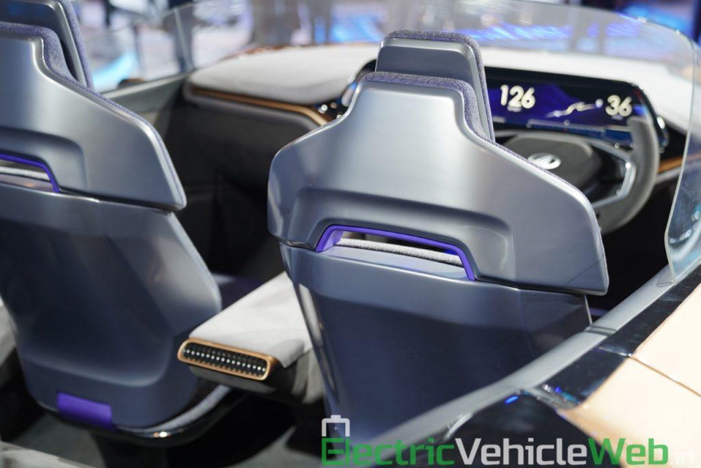 Mahindra Funster Concept seats - Auto Expo 2020,