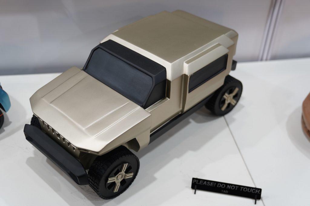 Mahindra Rath Concept top view - Auto Expo 2020
