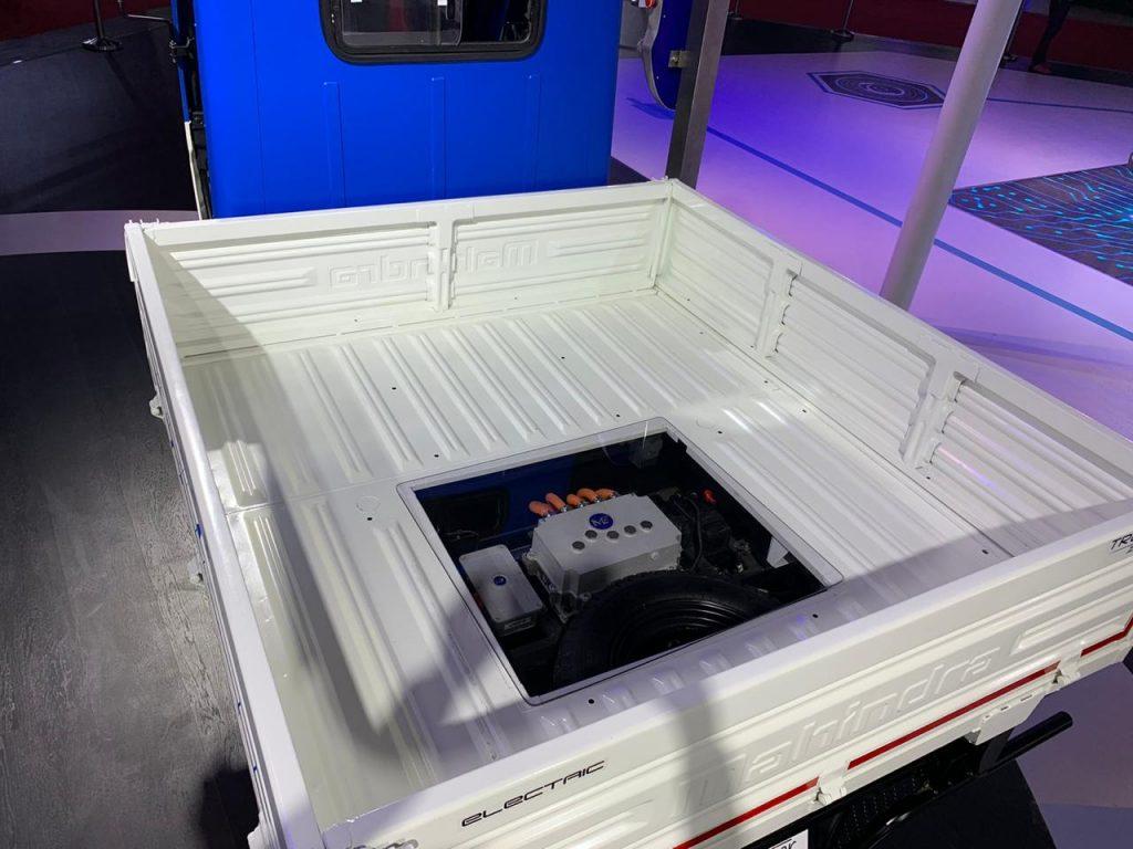 Mahindra Treo Zor load carrier battery - Auto Expo 2020