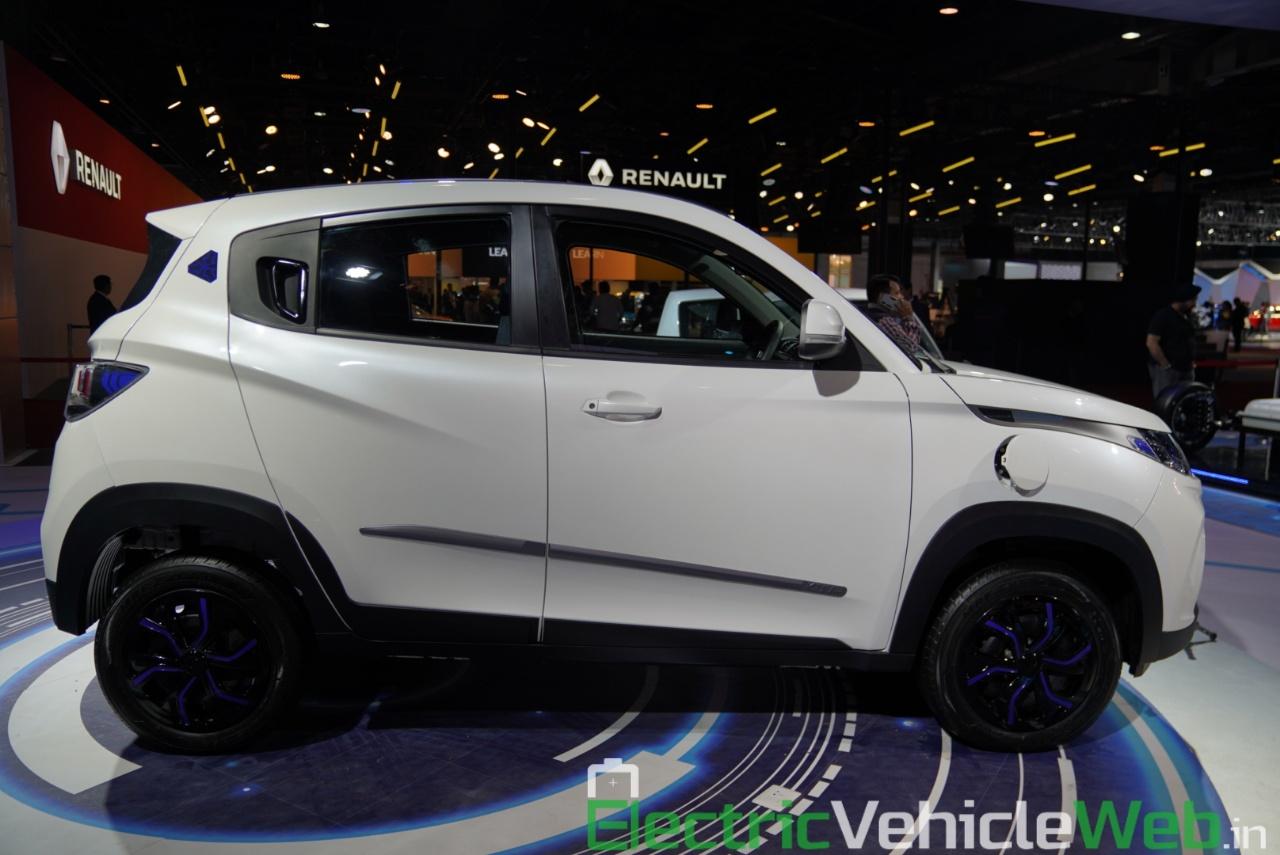 Mahindra eKUV100 side view 1 - Auto Expo 2020
