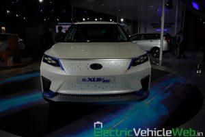 Mahindra eXUV300 front view - Auto Expo 2020