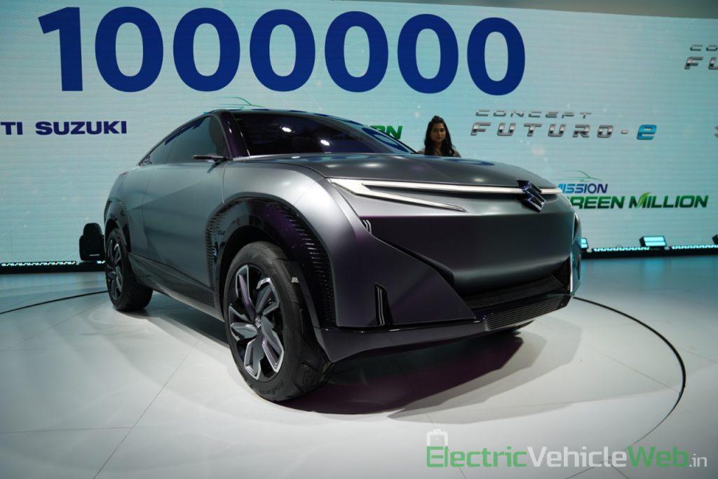 Maruti Suzuki Futuro e Concept front three quarter view - Auto Expo 2020