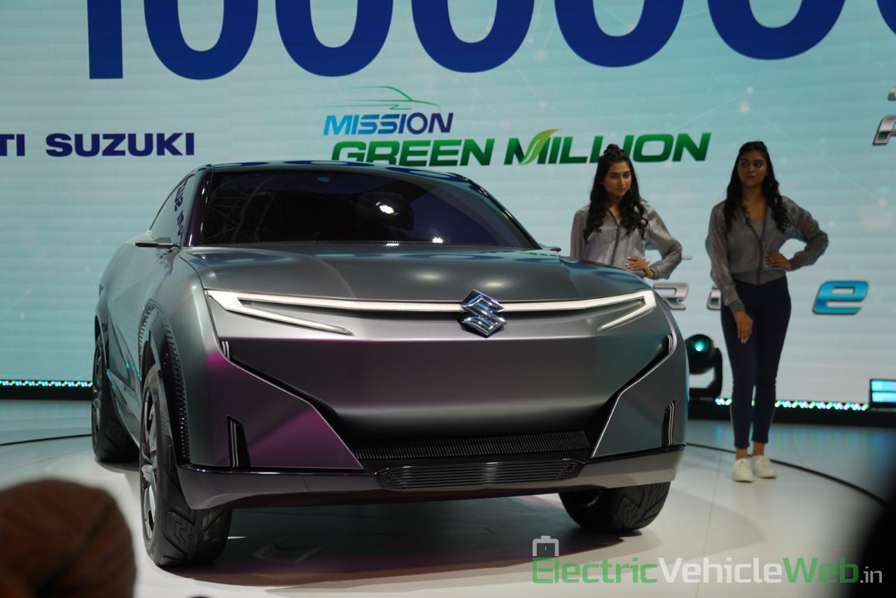 Maruti Suzuki Futuro e Concept front view 1 - Auto Expo 2020