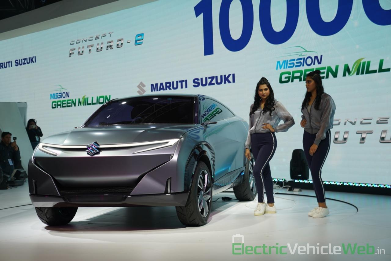 Maruti Suzuki Futuro e Concept front view 2 - Auto Expo 2020