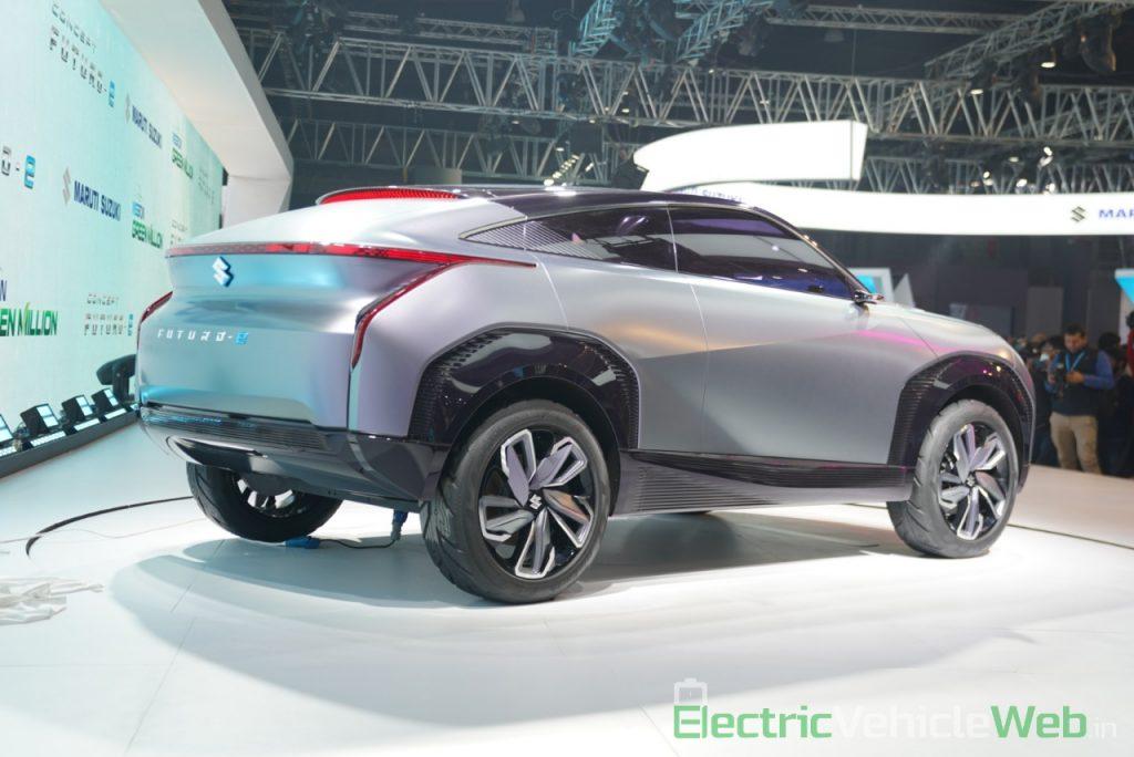 Maruti Suzuki Futuro e Concept rear three quarter view - Auto Expo 2020