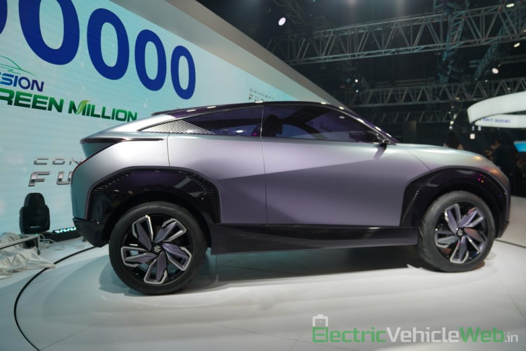 Maruti Suzuki Futuro e Concept side view 1 - Auto Expo 2020