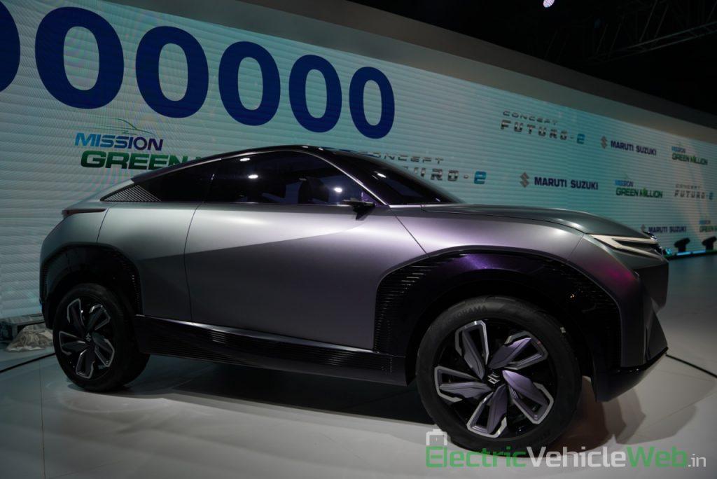 Maruti Suzuki Futuro e Concept side view 2 - Auto Expo 2020