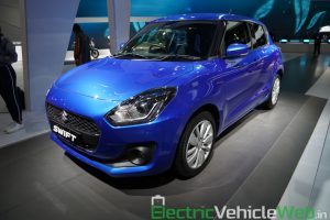 Maruti Suzuki Swift Hybrid front three quarter view - Auto Expo 2020