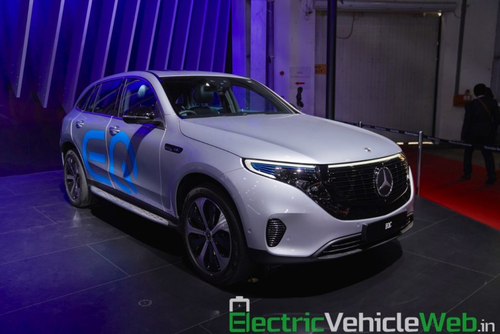 Mercedes EQC at Auto Expo 2020