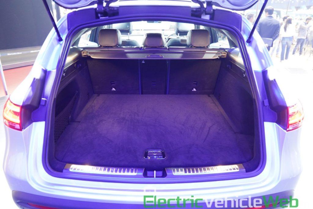 Mercedes EQC boot at Auto Expo 2020