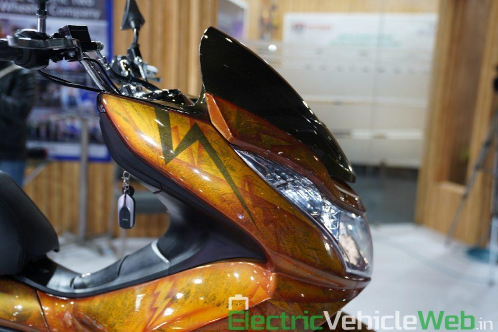Okinawa Cruiser front fascia - Auto Expo 2020 Live