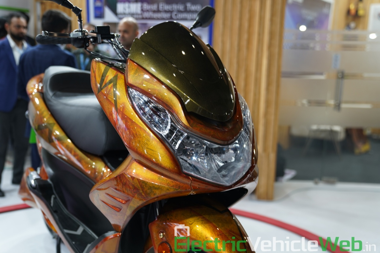Okinawa Cruiser headlamp - Auto Expo 2020 Live