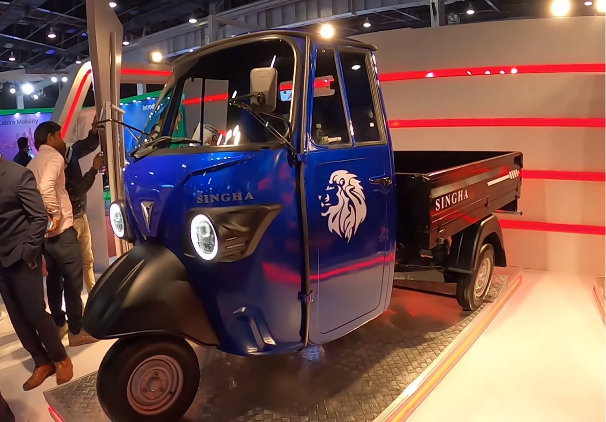 Omega Singha Max - Auto Expo 2020