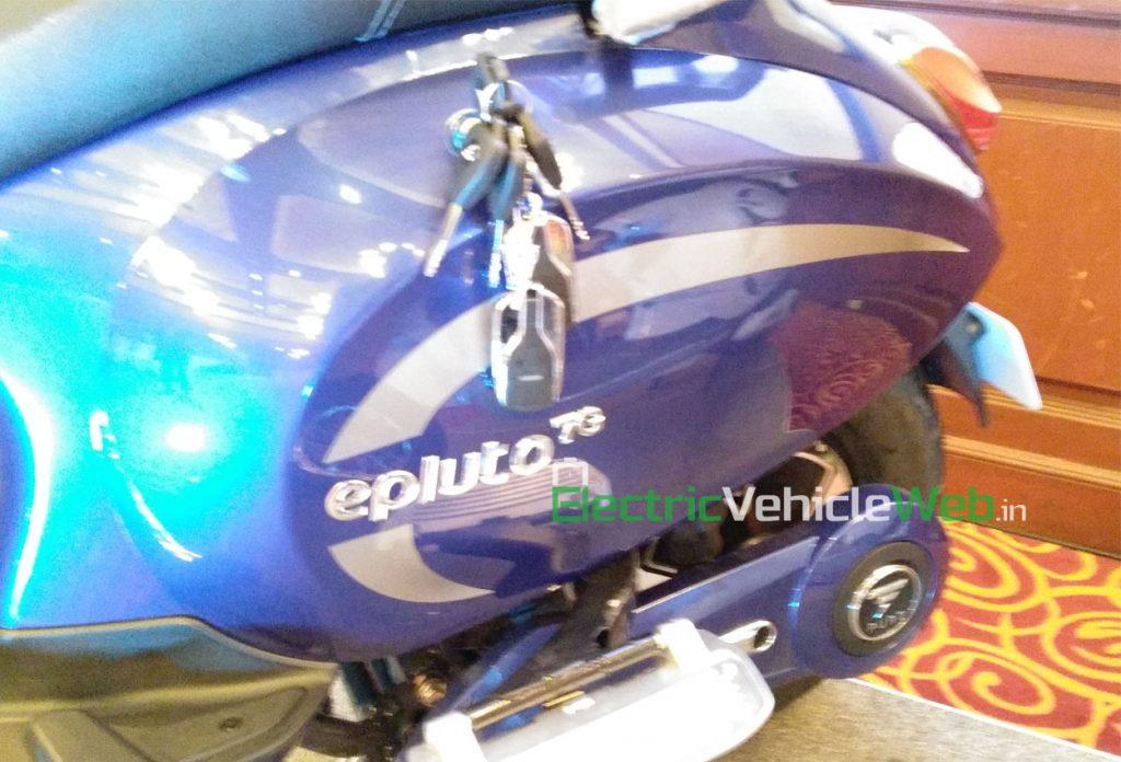 PureEV epluto 7g rear underseat