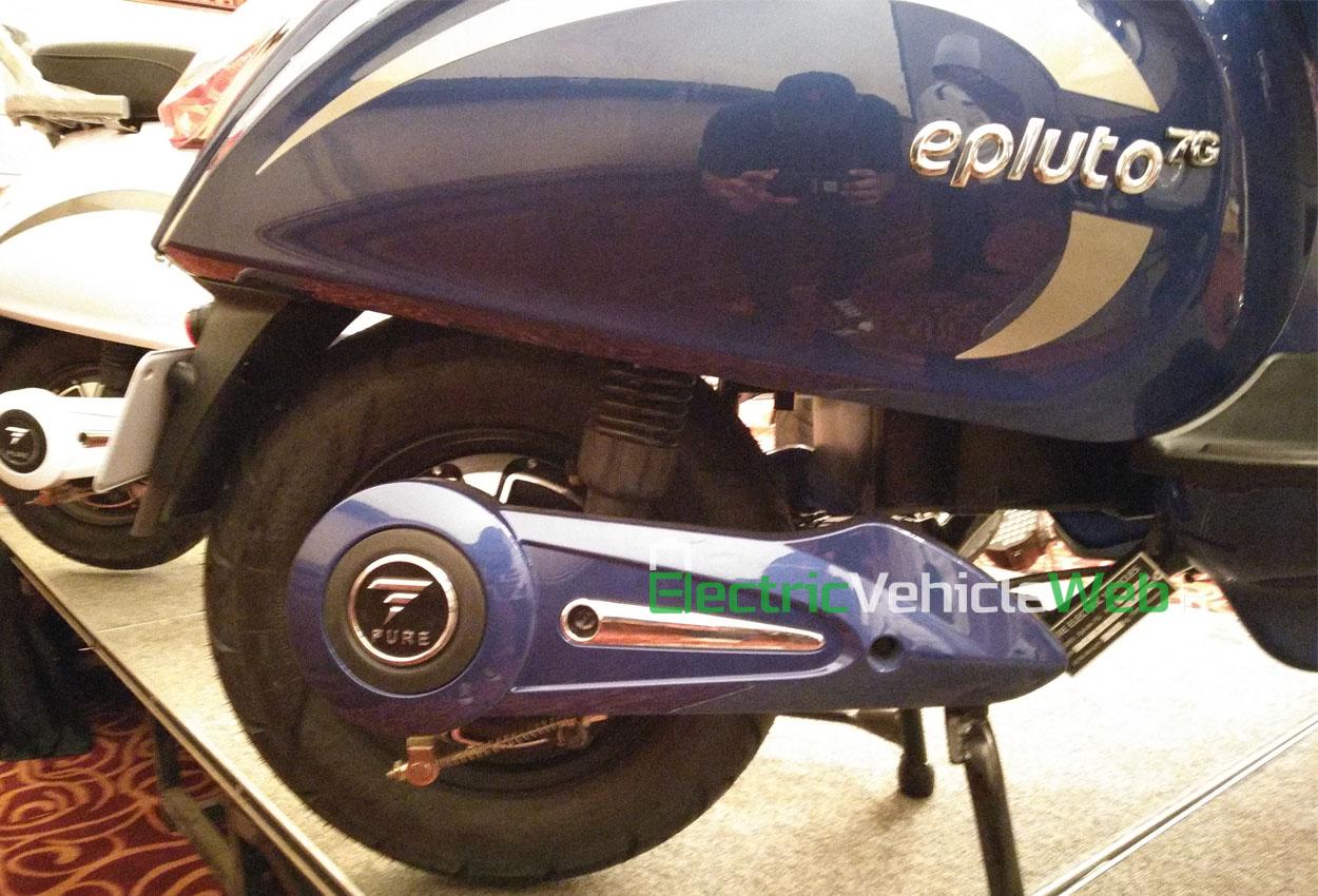 PureEV epluto 7g rear wheel
