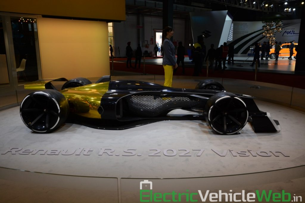Renault RS 2027 Vision Concept side view - Auto Expo 2020