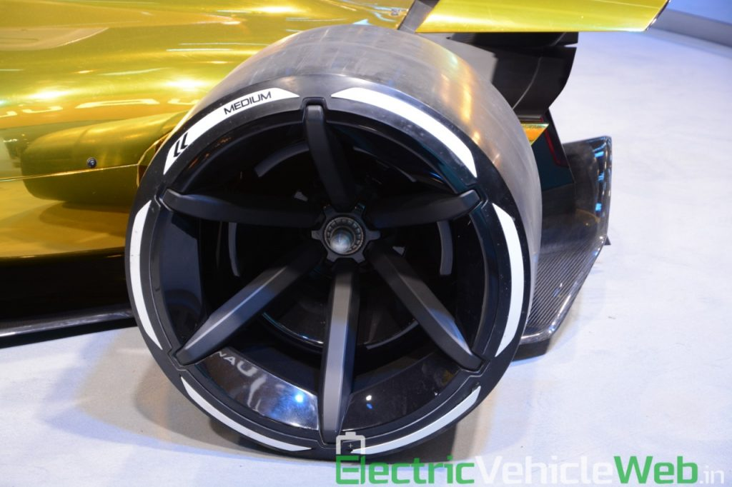 Renault RS 2027 Vision Concept wheel - Auto Expo 2020