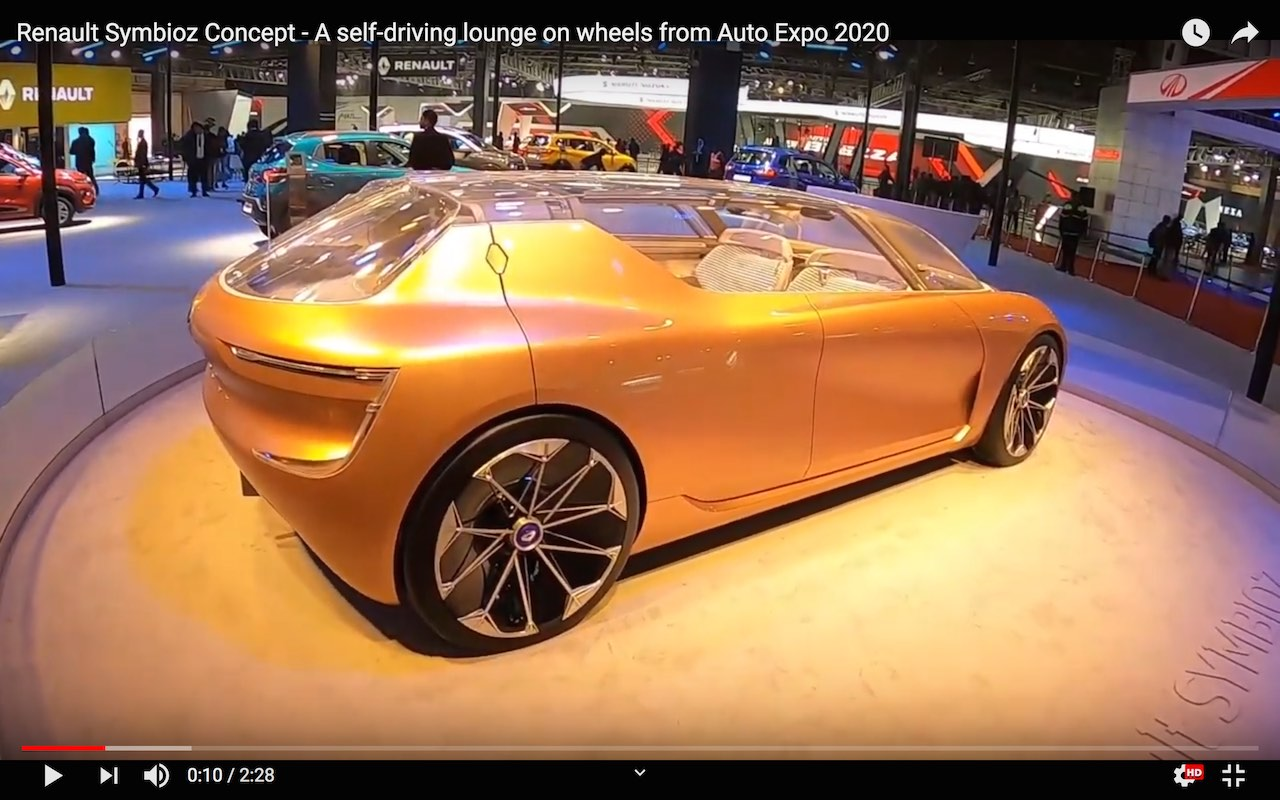 Renault Symbioz Concept at Auto Expo 2020 India