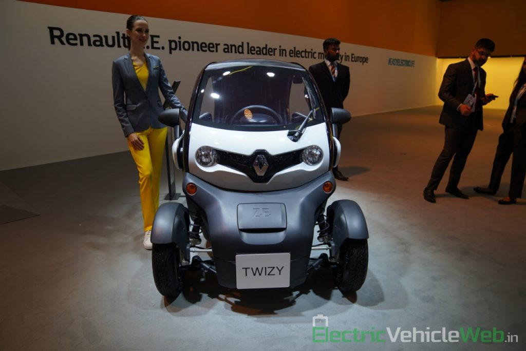 Renault Twizy front view - Auto Expo 2020