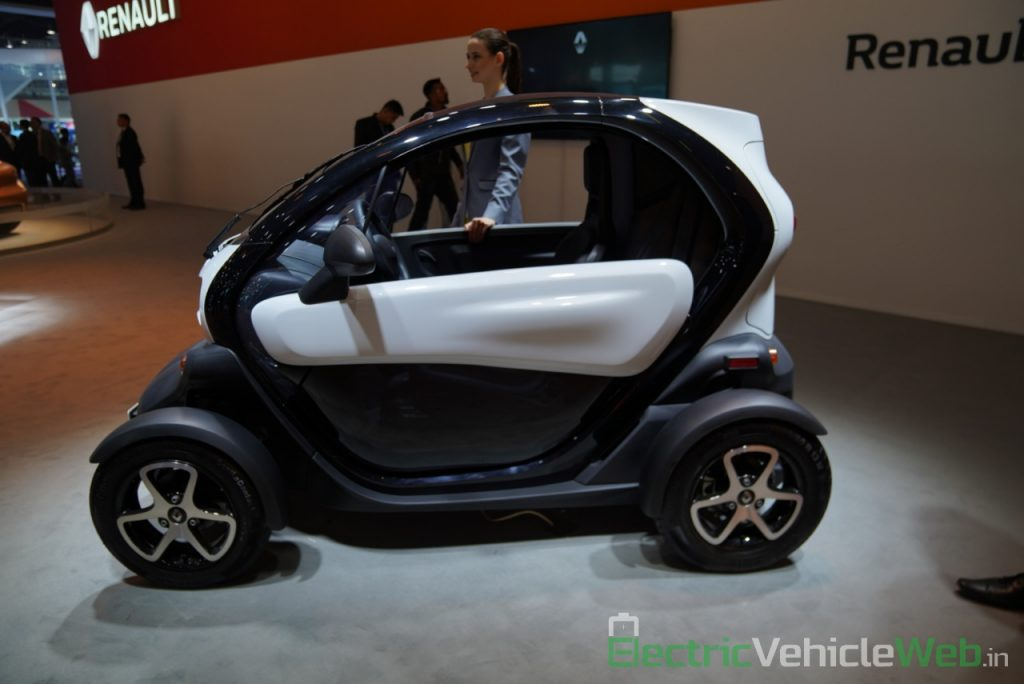 Renault Twizy side view - Auto Expo 2020