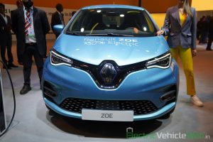 Renault Zoe Electric front view - Auto Expo 2020