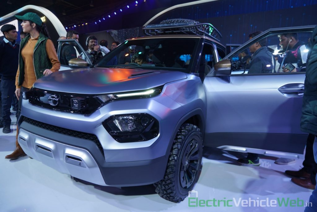 Tata HBX Concept front three quarter view 2 - Auto Expo 2020