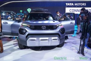 Tata HBX Concept front view - Auto Expo 2020