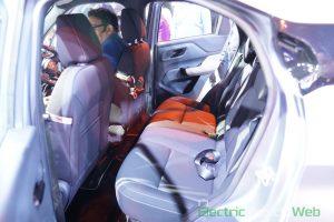 Tata HBX Concept rear seats - Auto Expo 2020