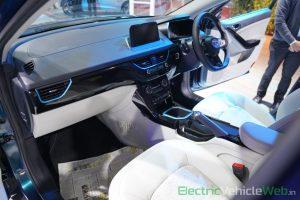 Tata Nexon EV interior dashboard - Auto Expo 2020