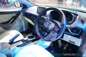 Tata Nexon EV interior view- Auto Expo 2020