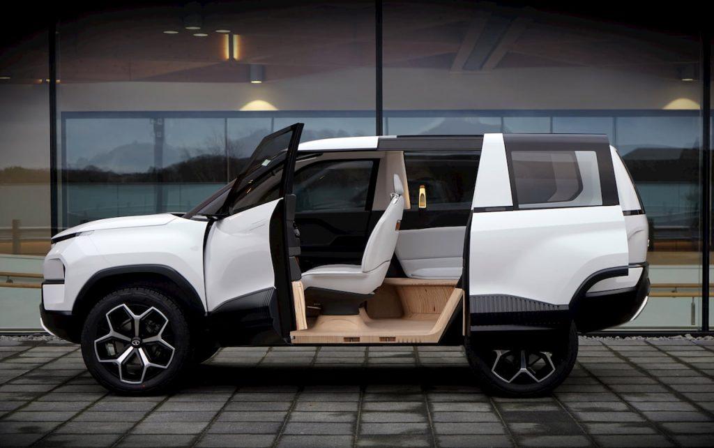 Tata Sierra EV Concept cabin doors