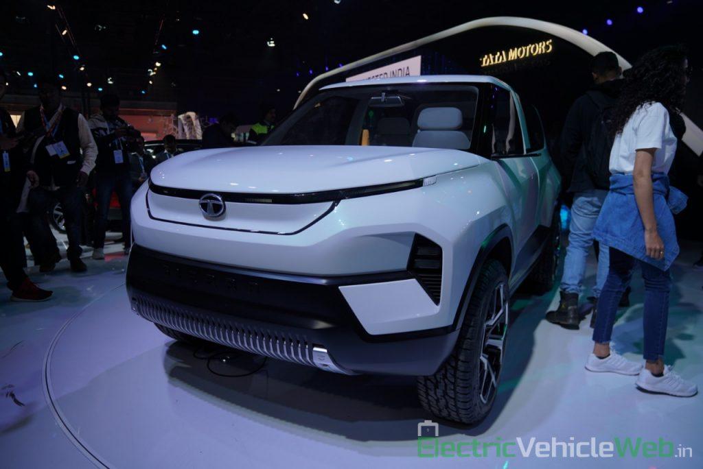 Tata Sierra EV Concept front three quarter view - Auto Expo 2020